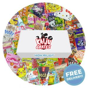 Medium Kaiju Crate - Random Japanese sweets box