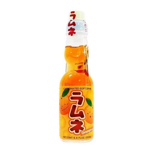 Hatakosen orange ramune