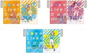 Love Live!! sports clear folders