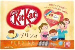 Pudding Kit Kat Bag